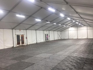 Climate Controlled Tent In Tents Services Llc